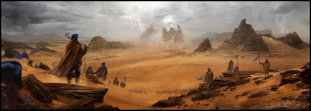 What if Arrakis, Dune, Desert Planet is Mars in the distant future?