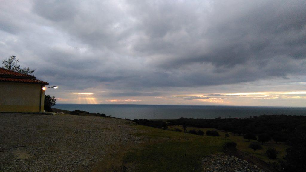 View from Koryfi Outpost, Samothraki.
