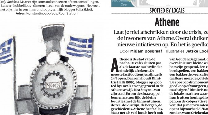 Spotted by Locals Interview with De Volkskrant